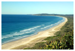 Byron Bay - the town of sun, sea, sand and surf